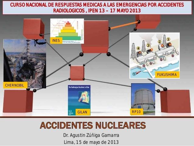 ACCIDENTES NUCLEARES CLASIFICACIÓN Y EJEMPLOS