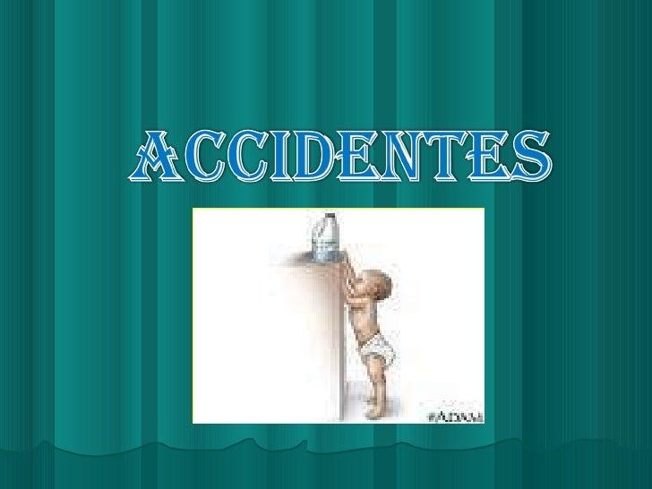 Accidentes en niños