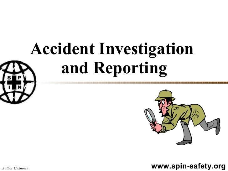 Accident Investigation (1)