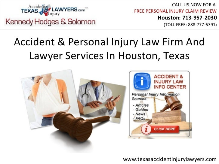 Accident & Personal Injury Law Firm And Lawyer Services In Houston, Texas