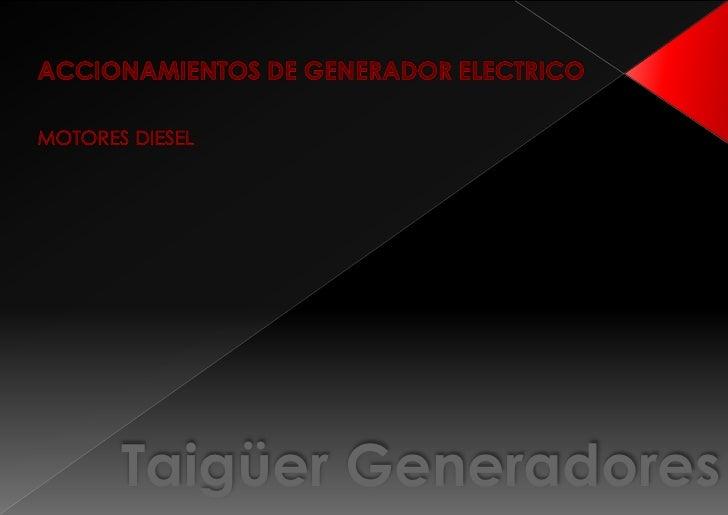 Taigüer Generadores