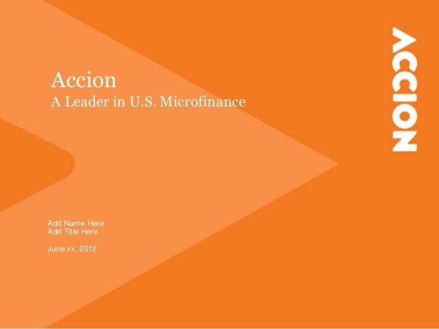 Accion client presentation final