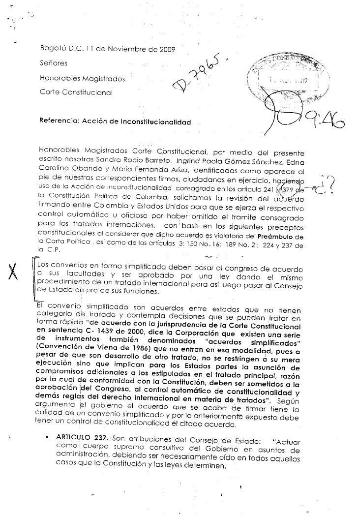 Acciondeincostitucionalidad Bases Militares