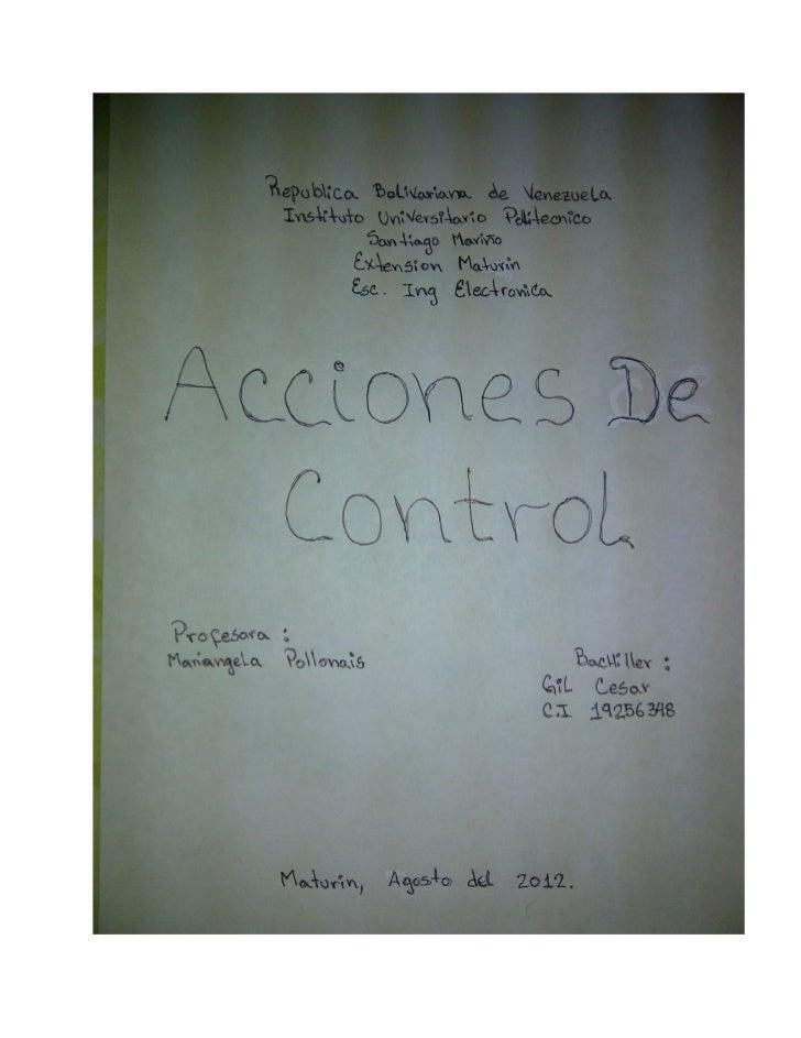 Acciones de control 19256348