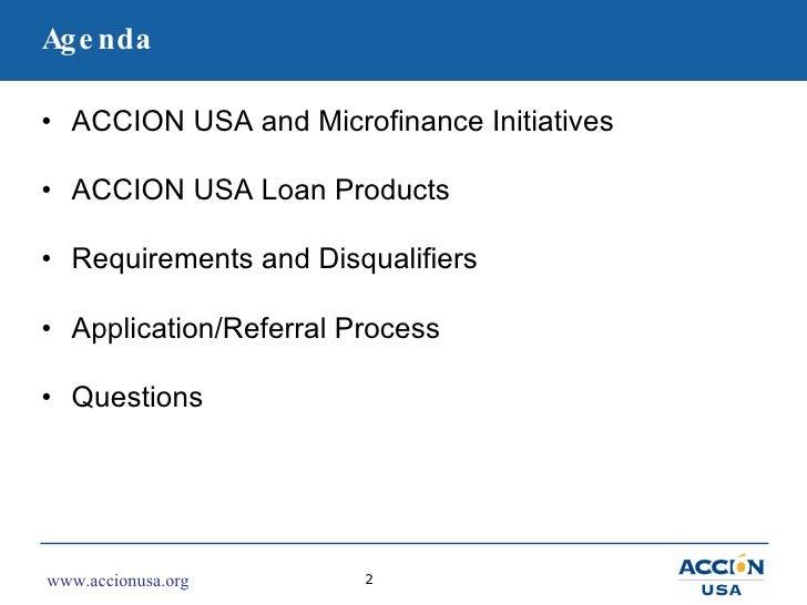 ACCION USA Partner Training