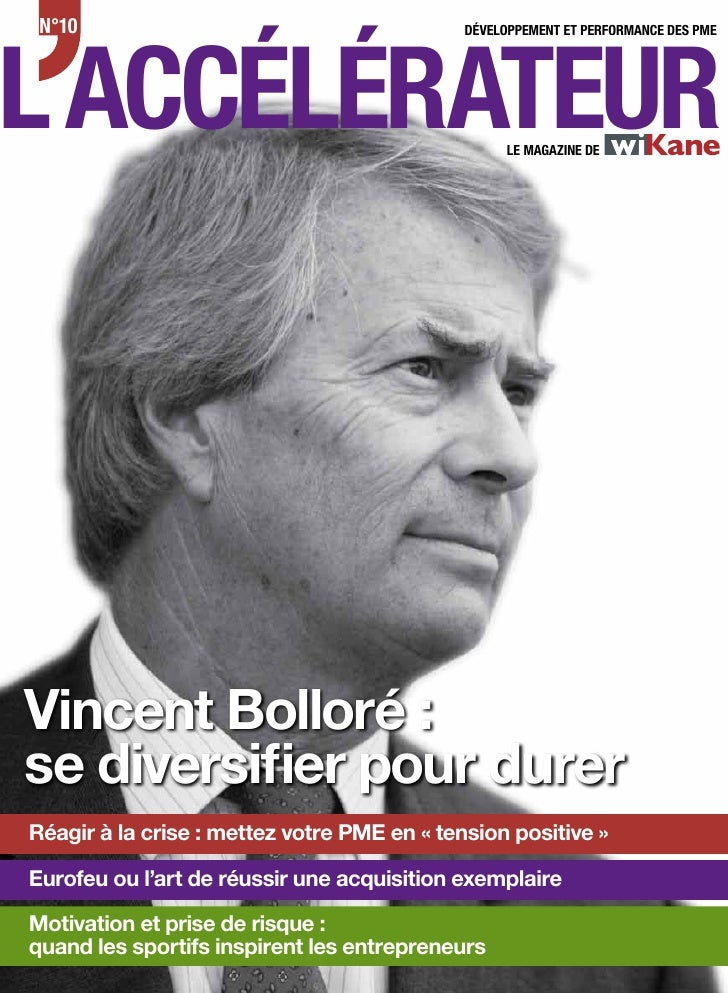N°10L ACCÉLÉRATEUR                                             DÉVELOPPEMENT ET PERFORMANCE DES PME                       ...