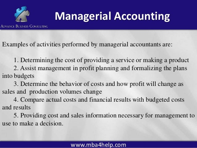 Is managerial accounting a tough class?