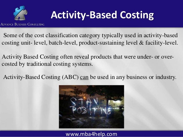 activity based costing research papers