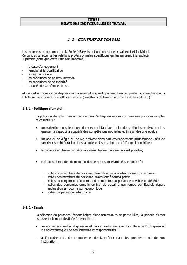 Modele Avenant Contrat De Travail Cdi Gratuit Document Online