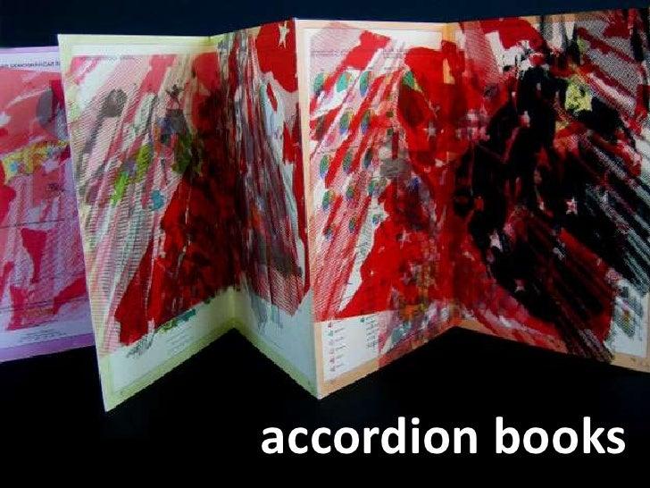 accordion books<br />