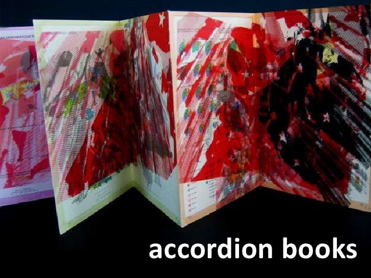 accordion book project