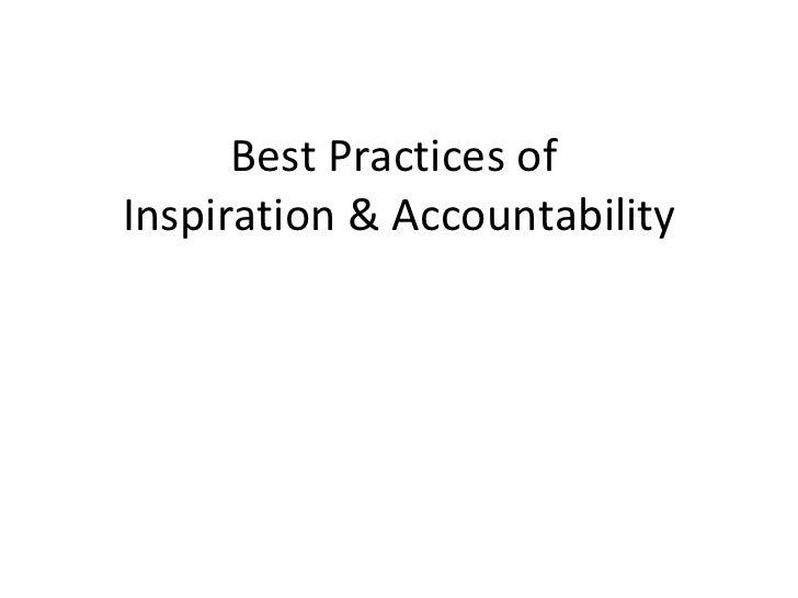 Accountability 2010