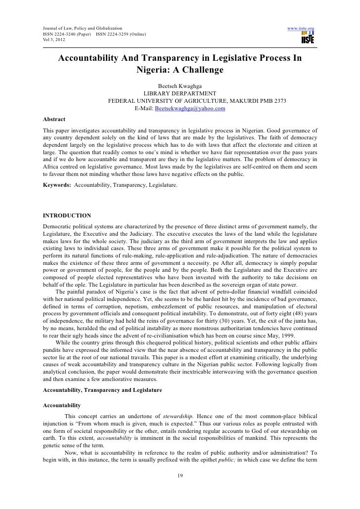 Journal of Law, Policy and Globalization                                                                 www.iiste.orgISSN...