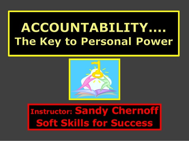 Instructor: Sandy ChernoffSoft Skills for Success
