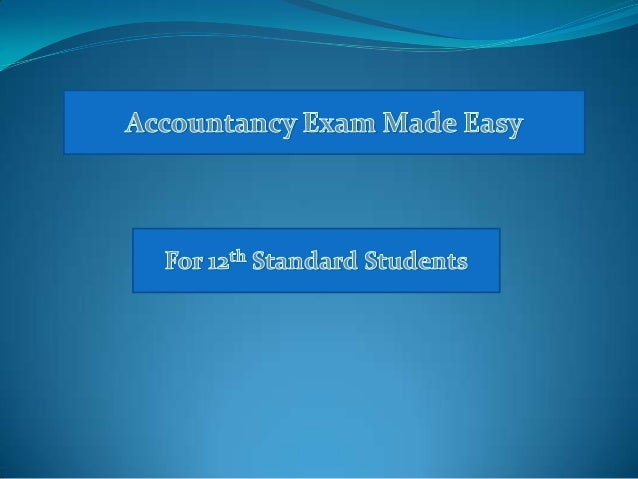 Chapter 1  Not For Profit Organisations  ACCOUNTANCY  Class XII
