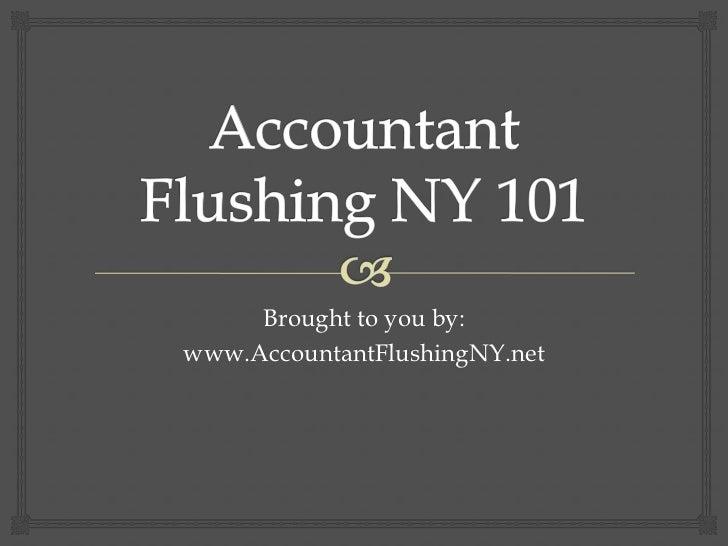 Accountant Flushing NY 101