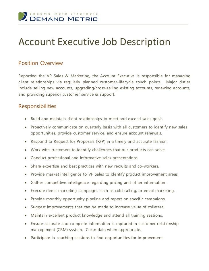 National Account Executive Resume 27.05.2017
