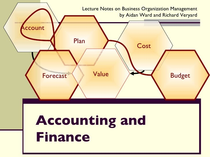 Accounting and Finance Account Cost Plan Forecast Budget Value