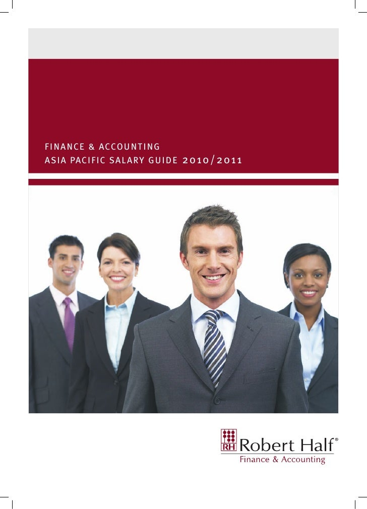 Accounting and finance salary guide 2010 2011  aus
