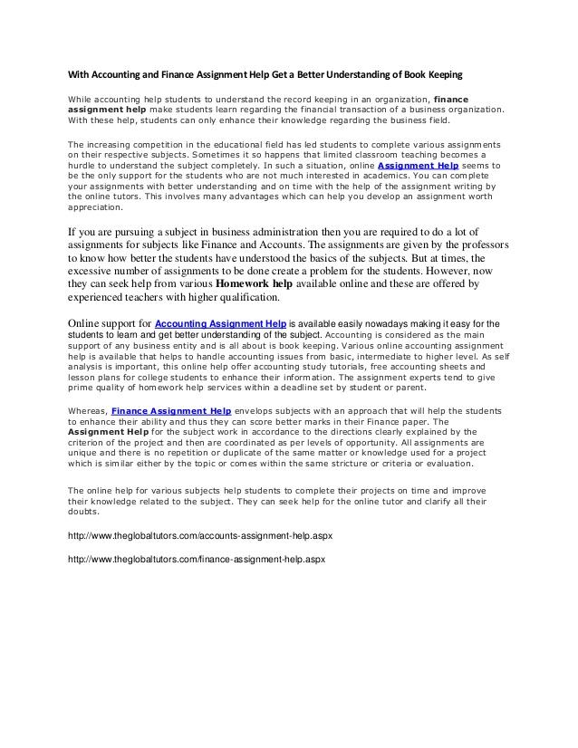 Corporate finance assignment help Buy Custom Essays