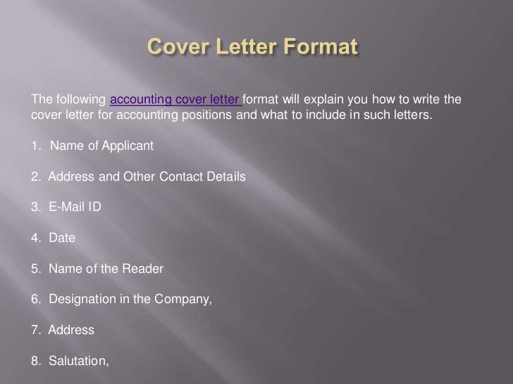 strong opening statement for cover letter