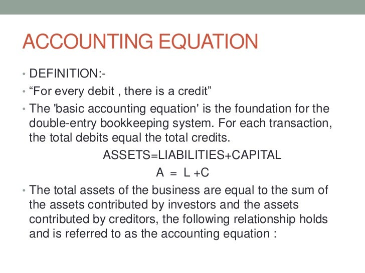 Accounting Definition Of Capital