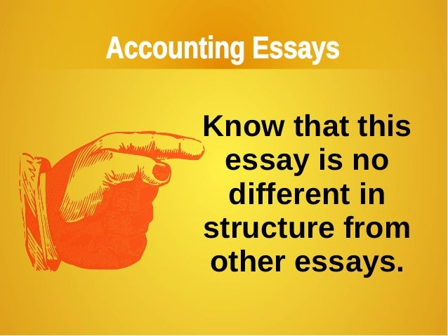 accounting foundation course thesis essay example