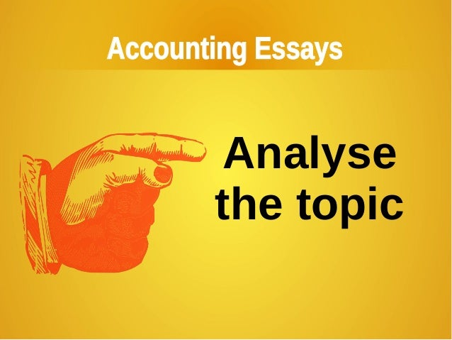 Accounting and ethics essay help