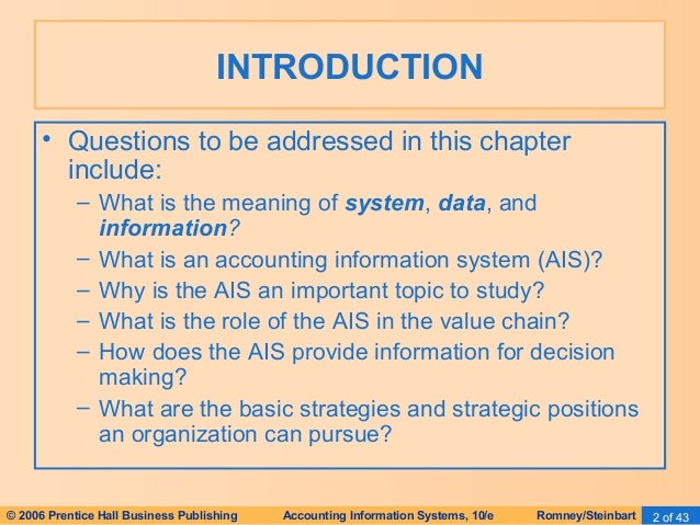 accounting information systems essay Ais is a system that collects and store accounting data, after that process the data into useful information used by the decision makers.