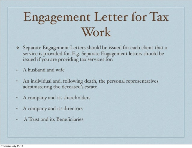 Accounting in jamaica engagement letters for Cpa engagement letter template