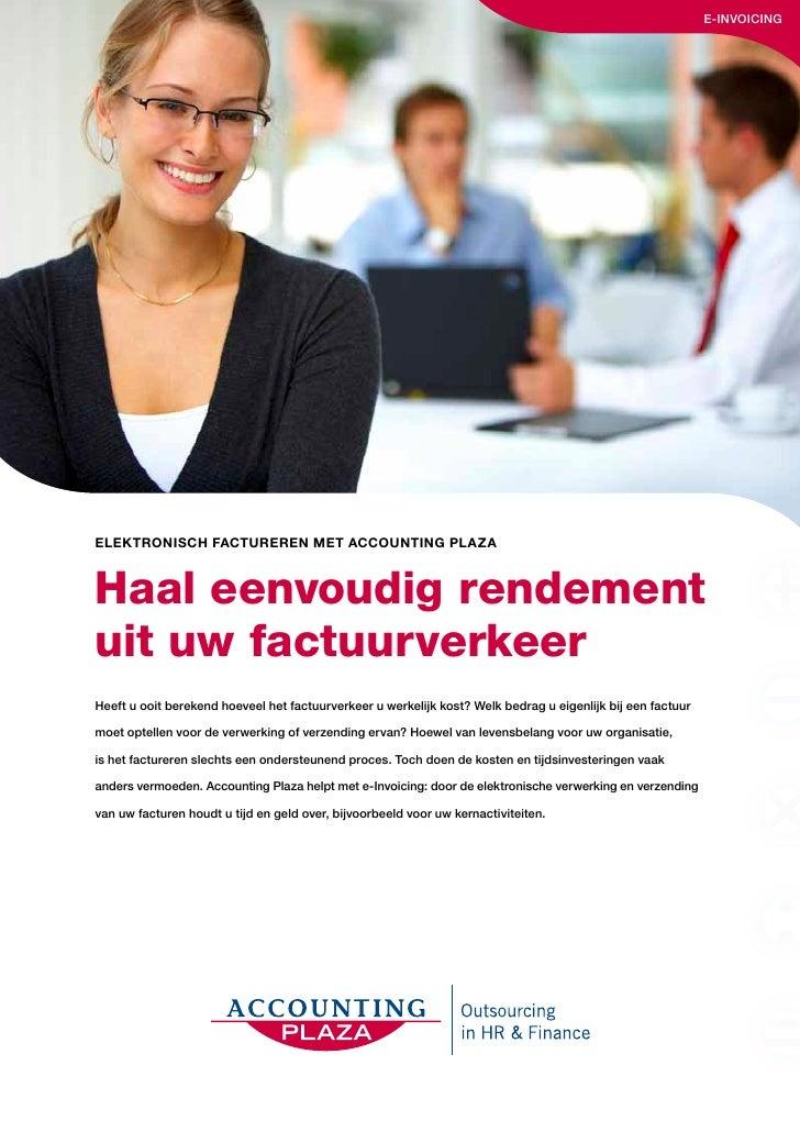 Accounting plaza brochure e-invoicing