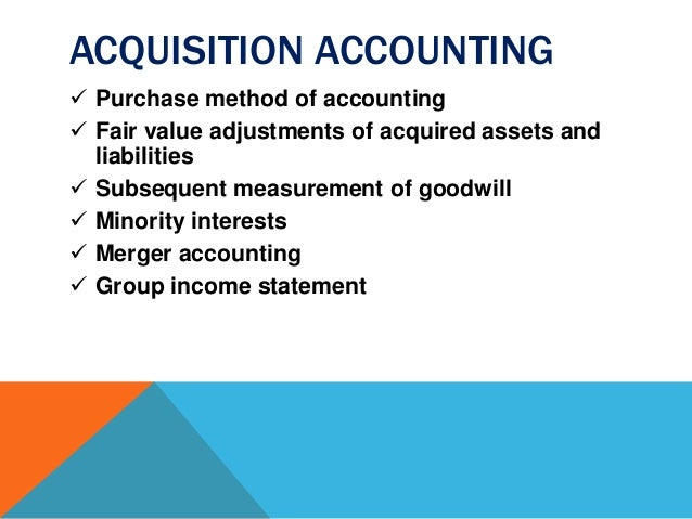 Image Result For Accounting For Minority Investments