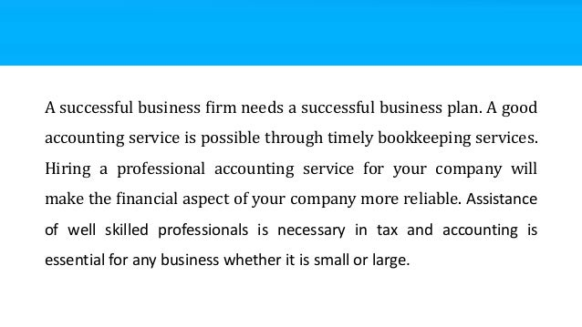 Business plan for accounting firm