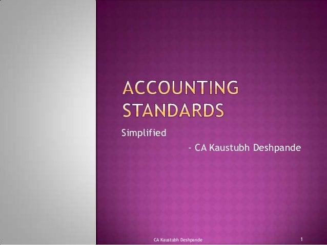 Simplified                     - CA Kaustubh Deshpande       CA Kaustubh Deshpande               1