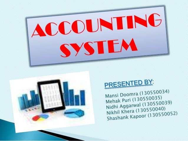 Accounting system intro and accounting system of reliance industries