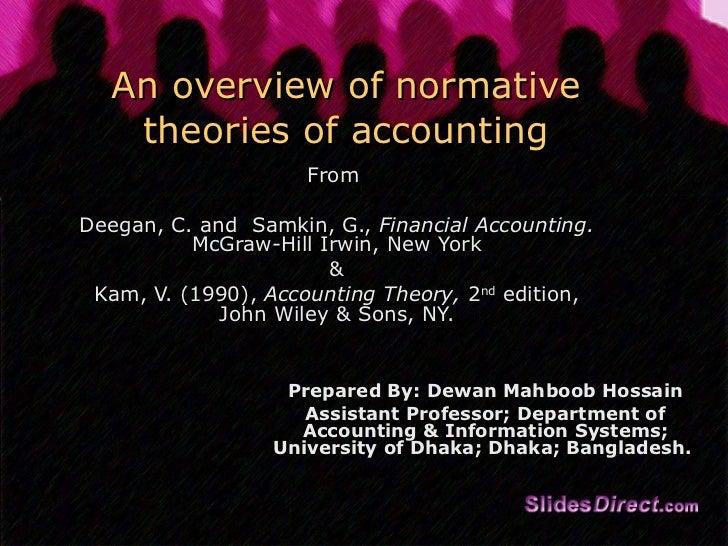 Accounting theory 8