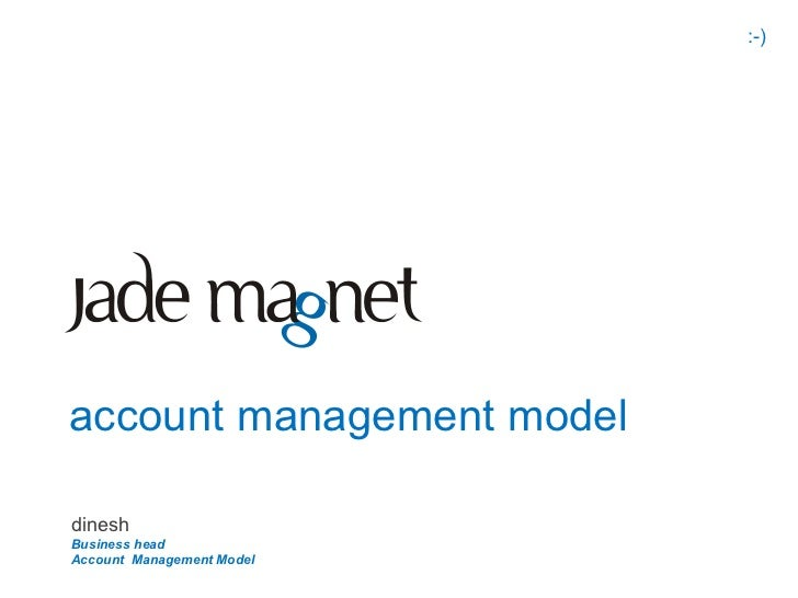 Jade Magnet Account Manager Model