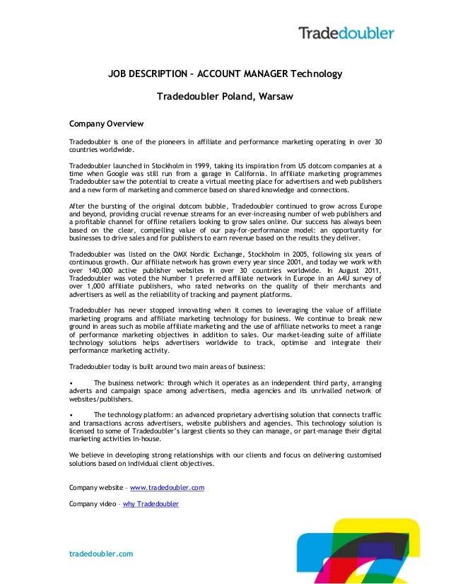 Tradedoubler Poland is hiring!