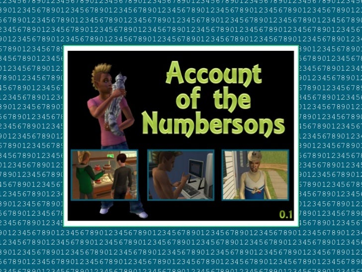 Account of the Numbersons: Chapter 0.1 ... I Found a Lawn!