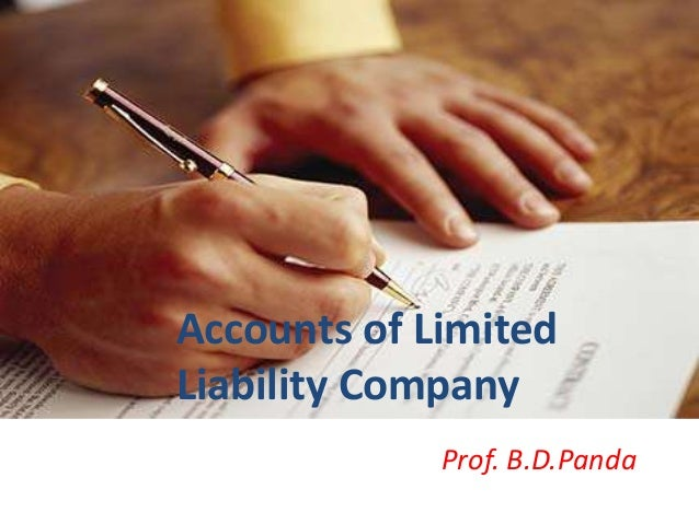 Accounts of limited company 1