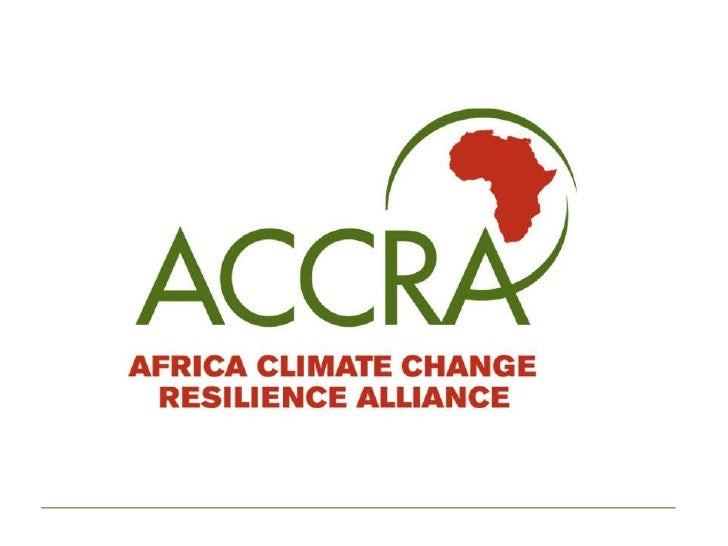 ACCRA Who we are, what we do and where we work.  Links to climate change adaptation, DRR, social protection and livelihood...