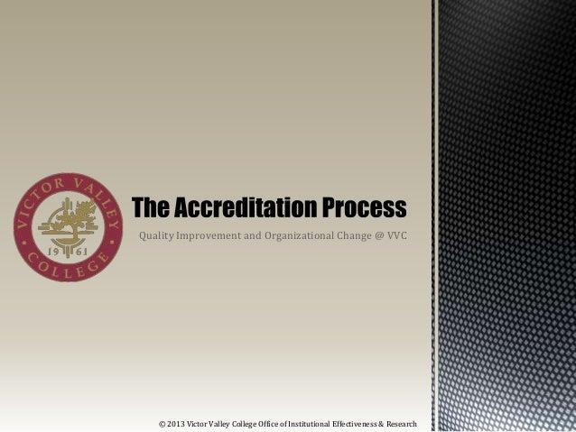 Accreditation at-vvc-2013