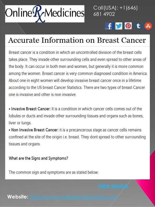 Accurate Information on Breast Cancer