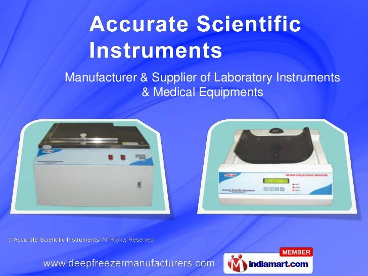 Manufacturer & Supplier of Laboratory Instruments <br />& Medical Equipments<br />