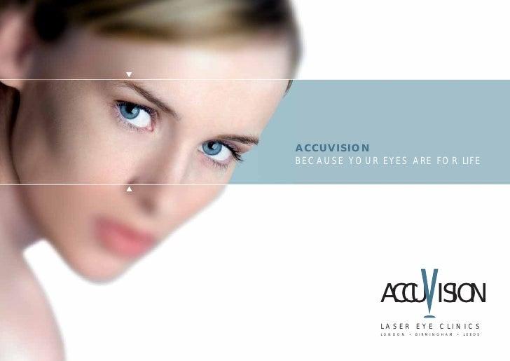 Accuvision - Laser Eye Surgery & Treatment  Brochure