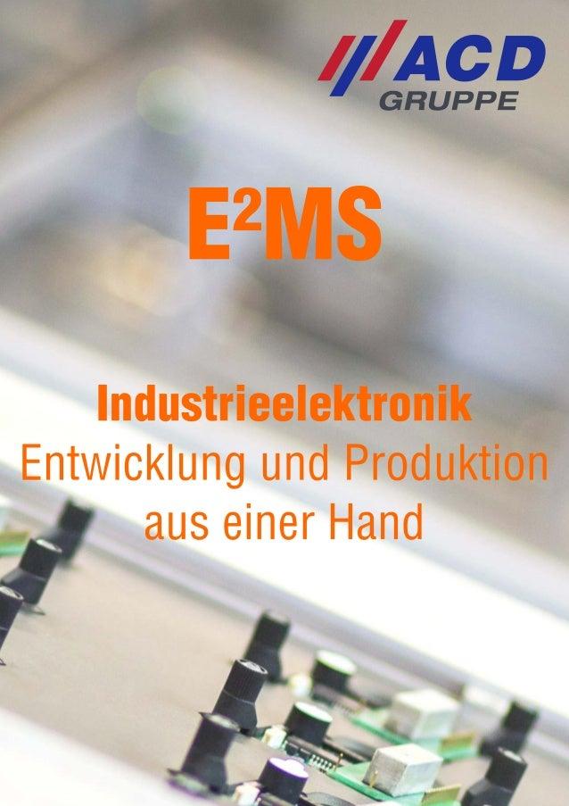 Industrieelektronik/EMS