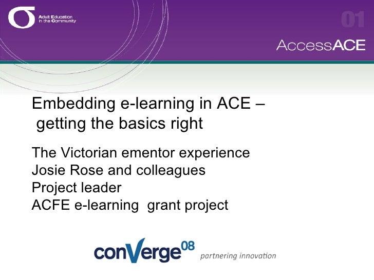 Ace Ementor Presentation
