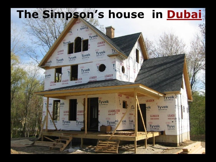The Simpson's house in Dubai