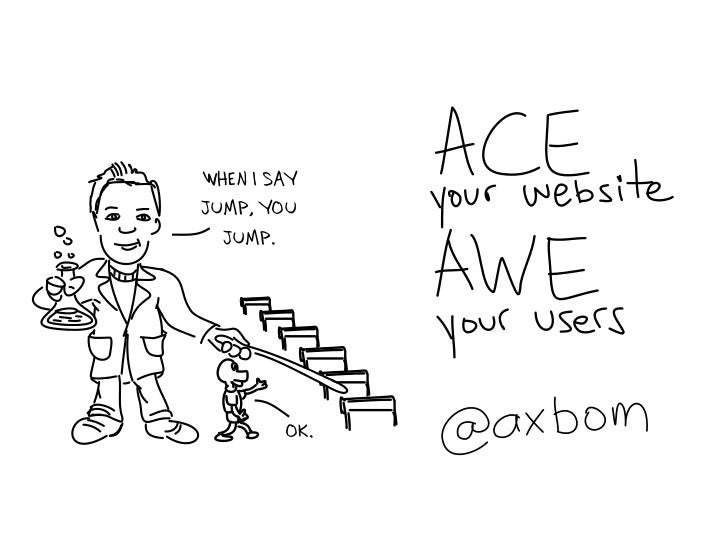 ACE your website. AWE your users.