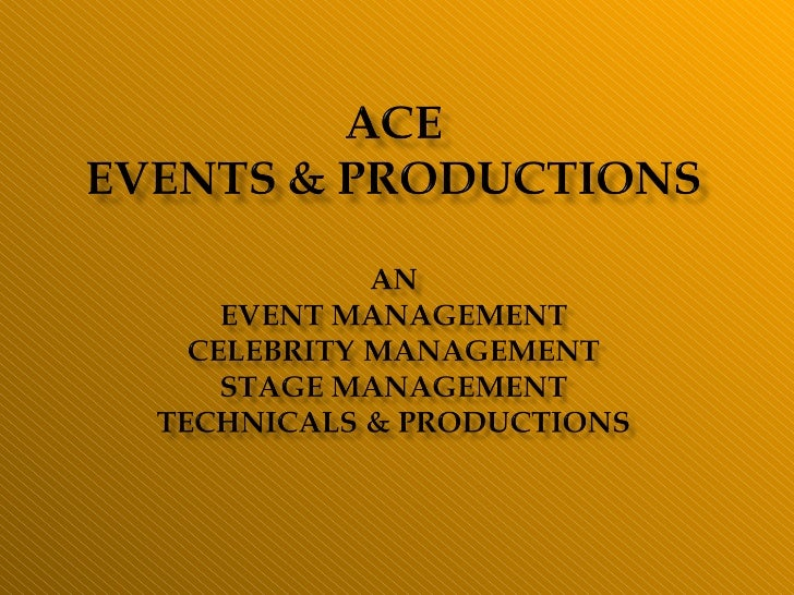 Ace Events & Productions
